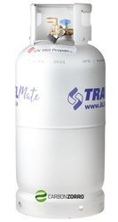 Alugas TRAVEL Mate - 14kg (33 Litres) Refillable Alu Gas Cylinder